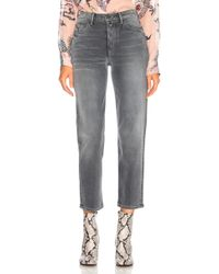 GRLFRND - Helena High Rise Clean Crop - Lyst
