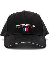 Vetements - Haute Couture Cap - Lyst