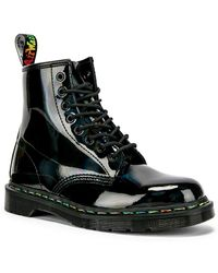 7e323bc2becb Dr. Martens - 1460 Rainbow Boot - Lyst