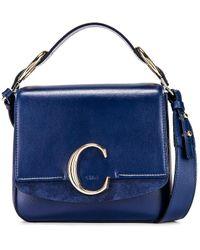 Chloé - Small C Box Bag - Lyst