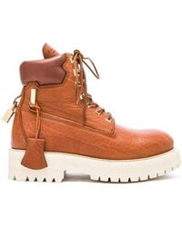 Buscemi - Leather Site Boots - Lyst