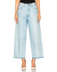 Frankie - Cropped Baggy - Lyst