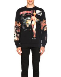 Givenchy - Heavy Metal Print Sweatshirt - Lyst