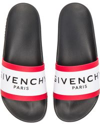 0a64abb67d6a givenchy logo embossed sliders