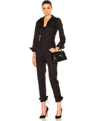 Monse - Cotton Twill Jumpsuit - Lyst