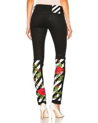 Shop Women's Off-White c/o Virgil Abloh Jeans from $194 | Lyst