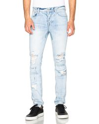 Stampd - Repaired 5 Pocket Denim - Lyst