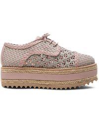 Zimmermann - Weave Platform Sneakers - Lyst