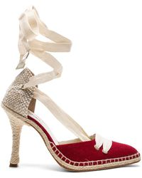 Castaner - X Manolo Canvas By Night High Espadrille Heels - Lyst