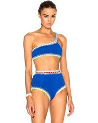 KIINI - Tuesday One Shoulder Bikini Top - Lyst