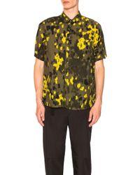 OAMC - Pulse Shirt In Military Green Camo Print - Lyst