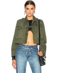 Icons - For Fwrd Cropped Dutch Field Jacket - Lyst