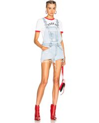 Off-White c/o Virgil Abloh - Overall Shorts - Lyst
