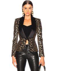 Redemption - Printed Leopard Blazer - Lyst
