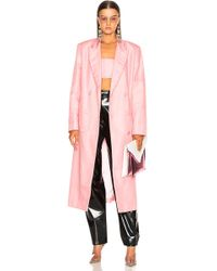 Helmut Lang - X Shayne Oliver Double Breasted Coat - Lyst
