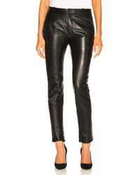 Nili Lotan - Leather East Hampton Pant - Lyst