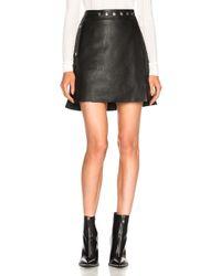 Acne Studios - Shirin Skirt - Lyst