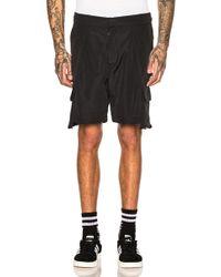 Reese Cooper Drop Pocket Cargo Shorts - Black