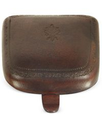 Peroni - Brown Leather Coin Purse - Lyst