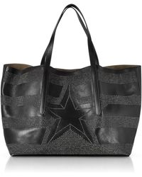Jimmy Choo - Pimlico Tao Large Black Leather Tote - Lyst