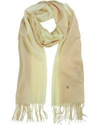 Mila Schon - Gradient Beige/cream Wool And Cashmere Stole - Lyst
