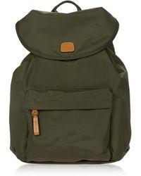 Bric's - X-travel Olive Nylon Backpack - Lyst