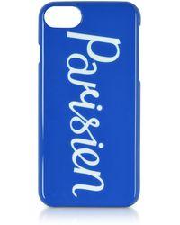 Maison Kitsuné - Parisien Royal Blue Iphone 7 Case - Lyst