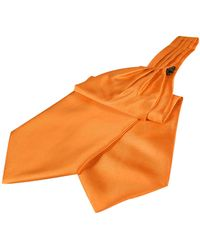 FORZIERI - Solid Color Pure Silk Ascot - Lyst