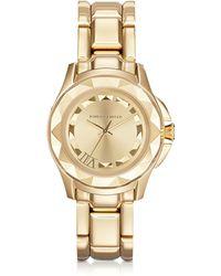 Karl Lagerfeld - Karl 7 36 Mm Gold Ip Stainless Steel Unisex Watch - Lyst