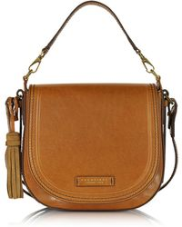The Bridge - Large Leather Messenger Bag W/tassels - Lyst