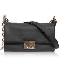 Emporio Armani - Grainy Leather Small Shoulder Bag - Lyst