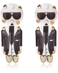 Bijoux De Famille - Karl Clip-on Earrings - Lyst