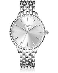 Thomas Sabo - Rebel At Heart Silver Stainless Steel Women's Watch - Lyst