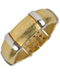 Torrini - Morphos - 18k Yellow And White Gold Cuff Bracelet - Lyst
