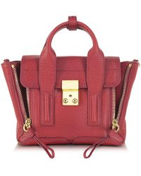 3.1 Phillip Lim - Red Pashli Mini Satchel - Lyst