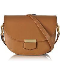 Le Parmentier - Clio Smooth Leather Flap Shoulder Bag - Lyst