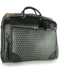 Moreschi - Black Logo Garment Travel Bag - Lyst