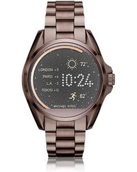 Michael Kors - Sable Stainless Steel Bradshaw Women's Smartwatch - Lyst
