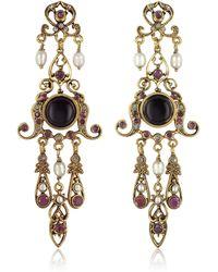 Alcozer & J - Chandelier Earrings - Lyst