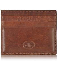 The Bridge - Story Uomo Leather Credit Card Holder - Lyst