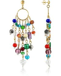 Antica Murrina - Brio - Murano Glass Bead Chandelier Earrings - Lyst