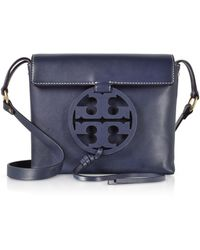 Tory Burch - Genuine Leather Miller Cross-body Bag - Lyst
