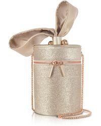 Sophia Webster - Champagne Bonnie Glitter Cross Body Bag - Lyst