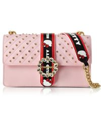 Pinko - Love Hello Kitty Jewel Pink Eco Leather Shoulder Bag - Lyst