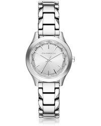 Karl Lagerfeld - Belleville Stainless Steel Women's Quartz Watch - Lyst