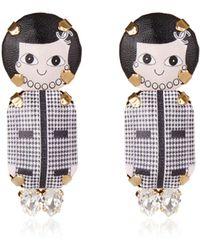 Bijoux De Famille - Coco Pendant Earrings - Lyst