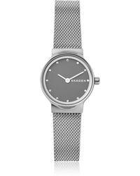 Skagen - Freja Steel-mesh Women's Watch - Lyst