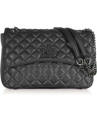 Roccobarocco - Rb Releve Quilted Eco Leather Shoulder Bag - Lyst