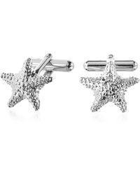 FORZIERI - Old Style - Starfish Cufflinks - Lyst