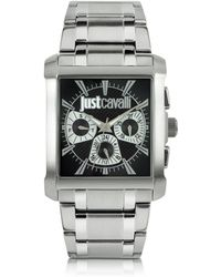 Just Cavalli - Rude Collection Stainless Steel Watch - Lyst